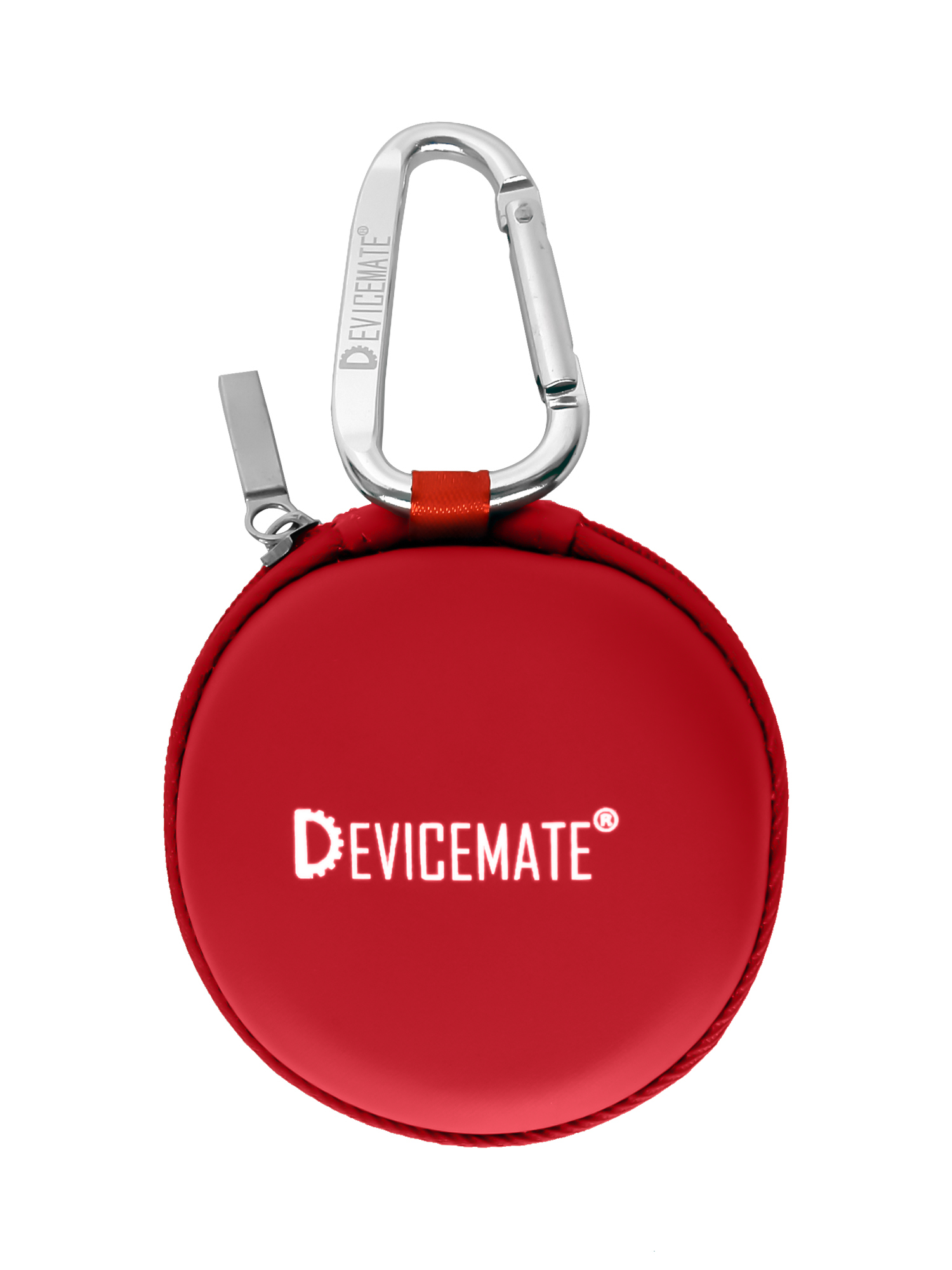 Devicemate SD 455-BRD Earphones w/mic for iPhone [Buc Red] Case