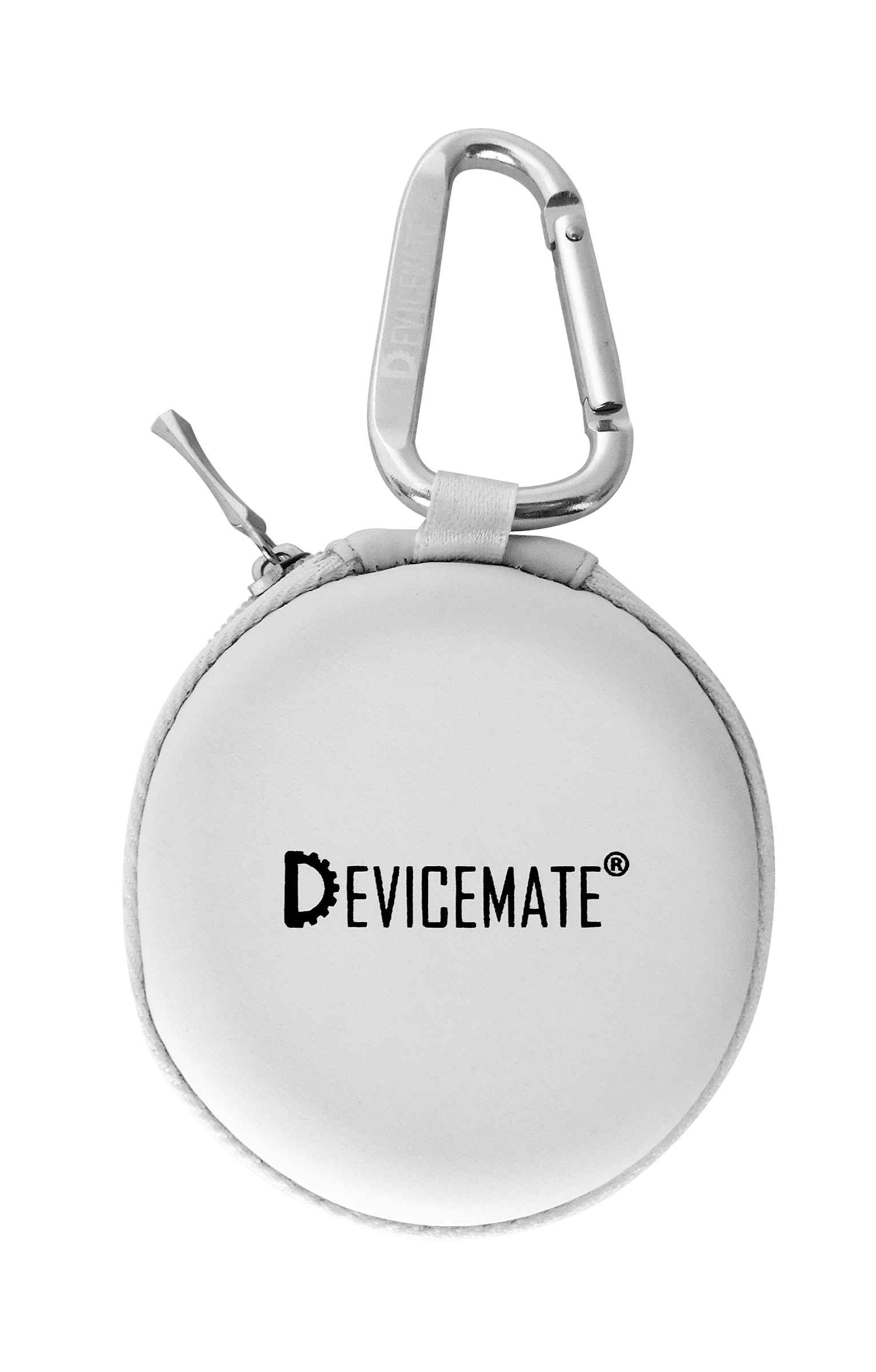Devicemate SD 455-GWT Earphones w/mic for iPhone [GlcWhite] Case