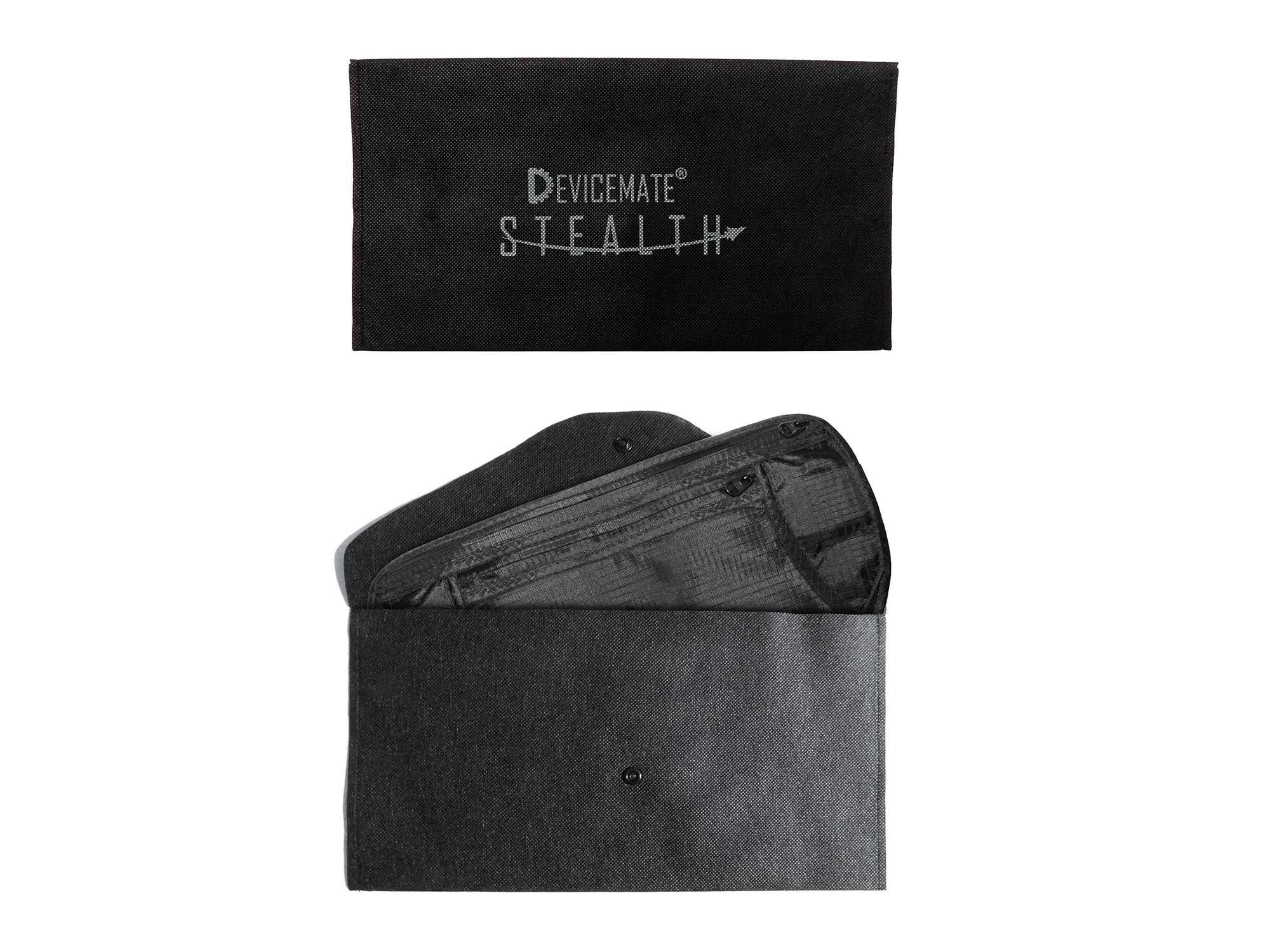DEVICEMATE® STEALTH Travel Money Belt RFID Block Passport Wallet